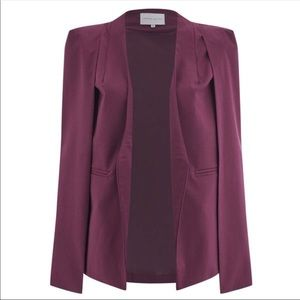 Cape blazer by Lavish Alice Sz 16